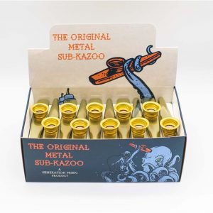 Original Generation Metal Sub-Kazoo – Gold (Box of 30)